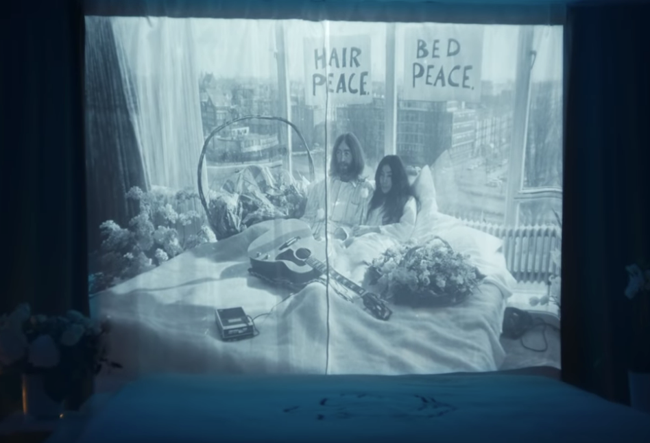 Hilton Honours John & Yoko's Dream of Peace In New 'Room 702' Campaign