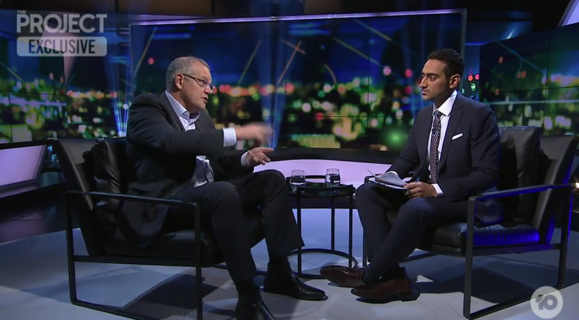 ScoMo-Aly TV Stoush Proves A Fizzer As Viewers Tune In To The Footy Instead