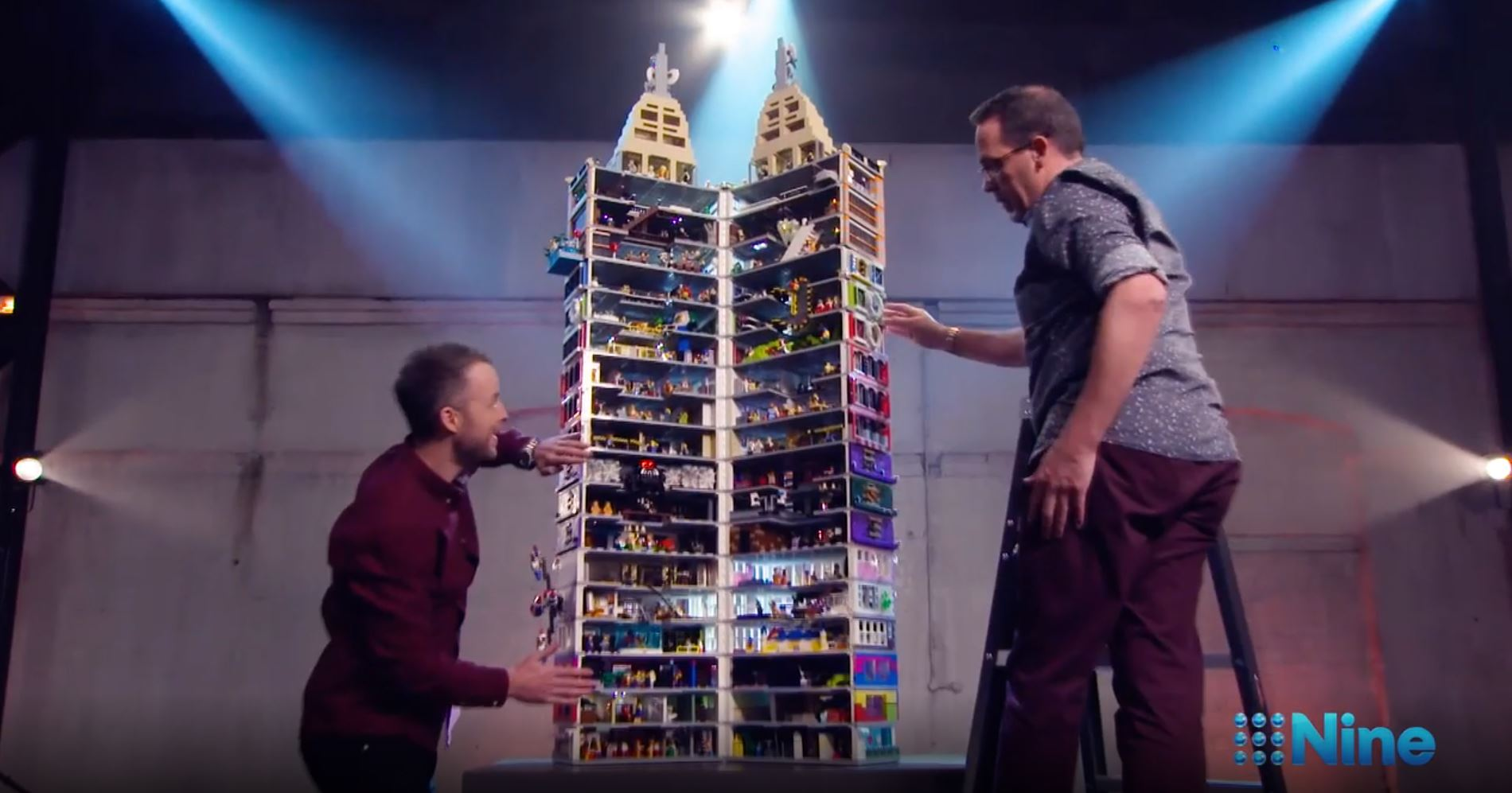 Sunday Tv Wrap Lego Goes The Jugular But Abc Proves The Night S Surprise Packet B Amp T