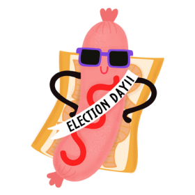 Election Day Sticker 3