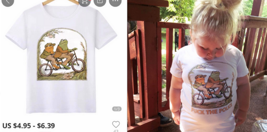 a95196b5d Mum Orders Kid's Frog & Toad T-Shirt, Gets