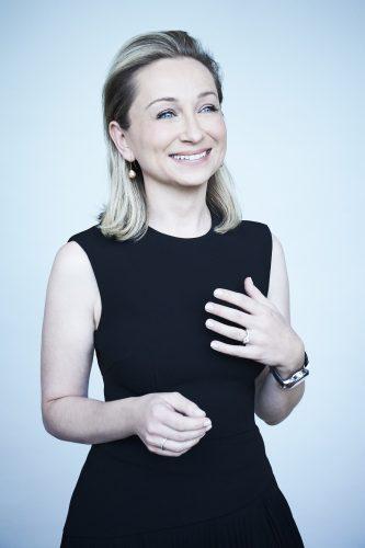 Winning Editor Katarina Kroslakova