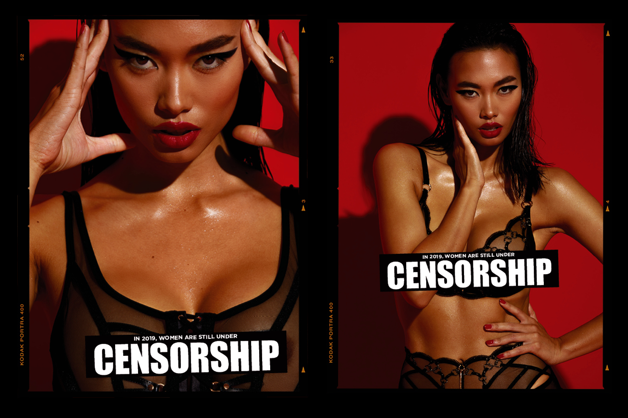 62b4a005f04d1 Honey Birdette Skewers Censorship (& Its Many Detractors) In Latest  Controversial Campaign