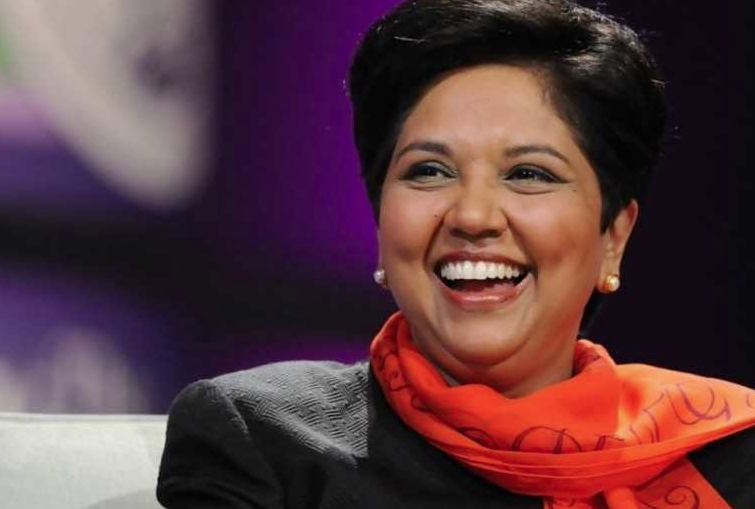 Ex-PepsiCo CEO Indra Nooyi On Confidence, Challenging Your Workforce & Building A Strong Company