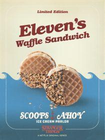 Elevens Waffle Sandwich