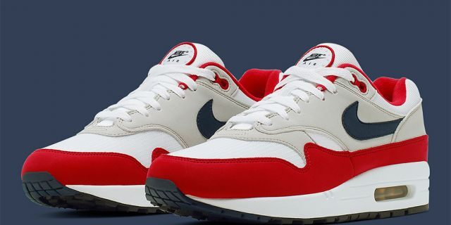 Release Date: Nike Air Max 1 4th of July •