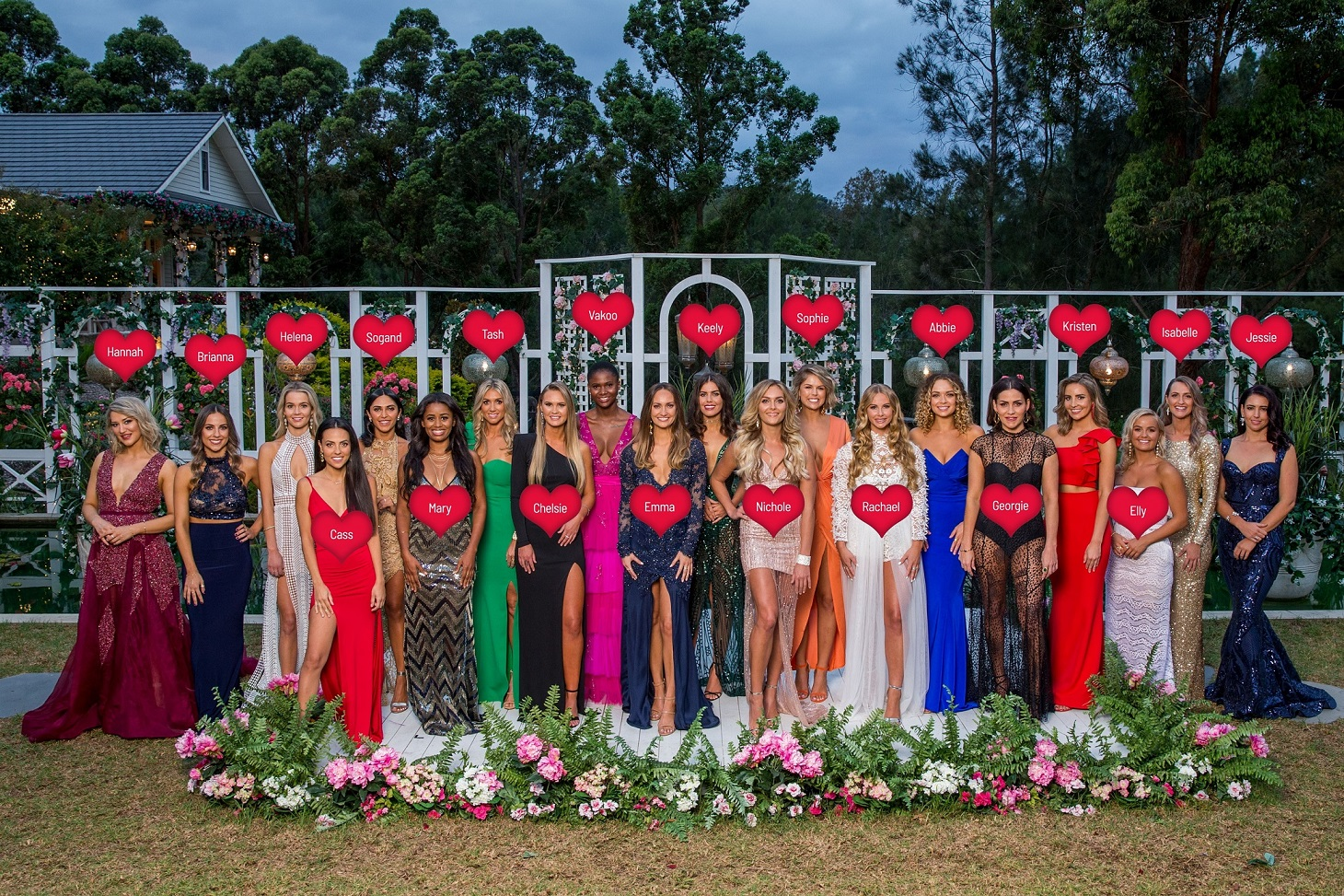 The Bachelor Australia S7- Top 20 Bachelorettes- Labelled