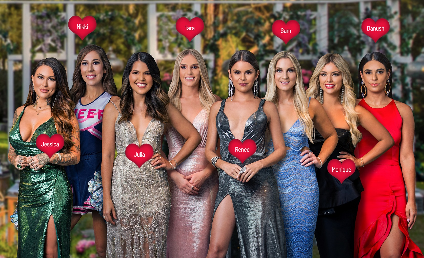 The Bachelor Australia S7- Unexpected Arrivals- Labelled