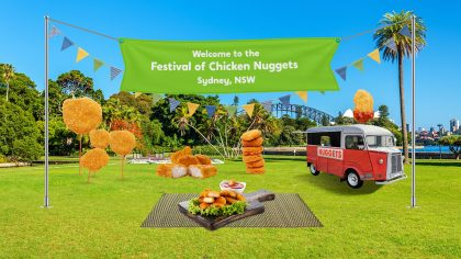 Wotif Festival of Wot Chicken Nuggets