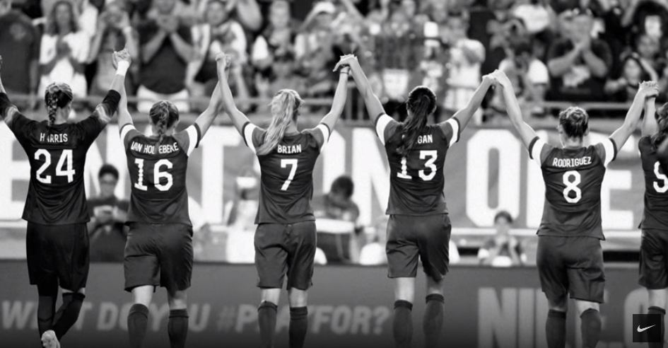 c1089c1b7 Nike Releases Inspirational Ad Celebrating US Women's Football Team's  Historic World Cup Victory