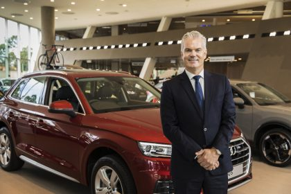 Portraits - Audi Australia corporate portraits Paul Sansom 21/02/2018. (Photo by Andrea Francolini)