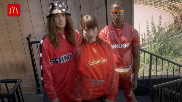 Macca's Ridicules Branded Fashion With Spoof Apparel Brand 'Schnuggs' (Spicy Chicken McNuggets)