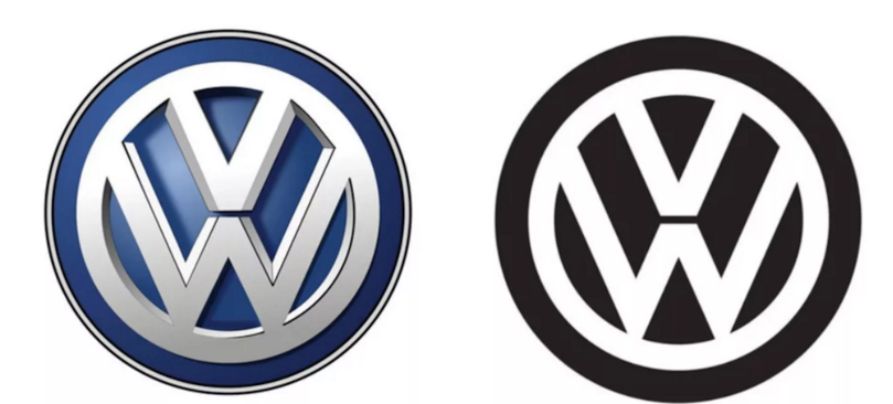 "Volkswagen Unveils Younger, ""Internet Friendly"" Logo (But You Need To Look Very, Very Closely To See It)"