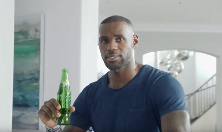 Coca-Cola Australia Snares LeBron James For Summer Sprite Spot