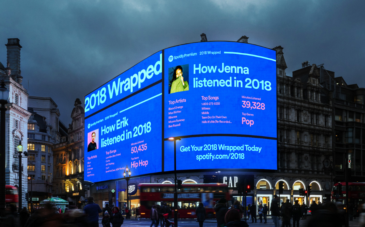 How Spotify Used A .Study Domain To Share Its Wildly Popular 'Wrapped' Campaign
