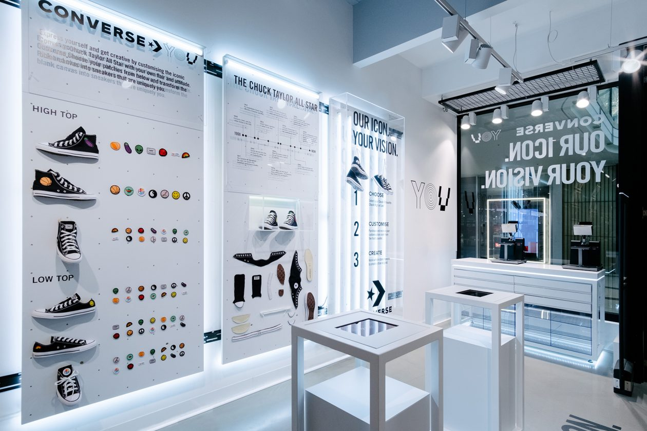 Converse Launches Cool Activation With Customisable Shoes At