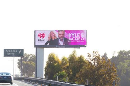 Kyle & Jackie O SHow - LA billboards 3