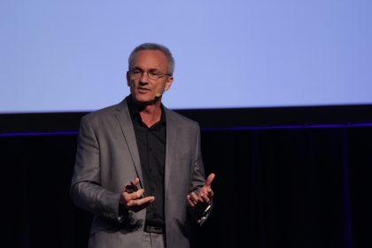 Ross Judd presenting