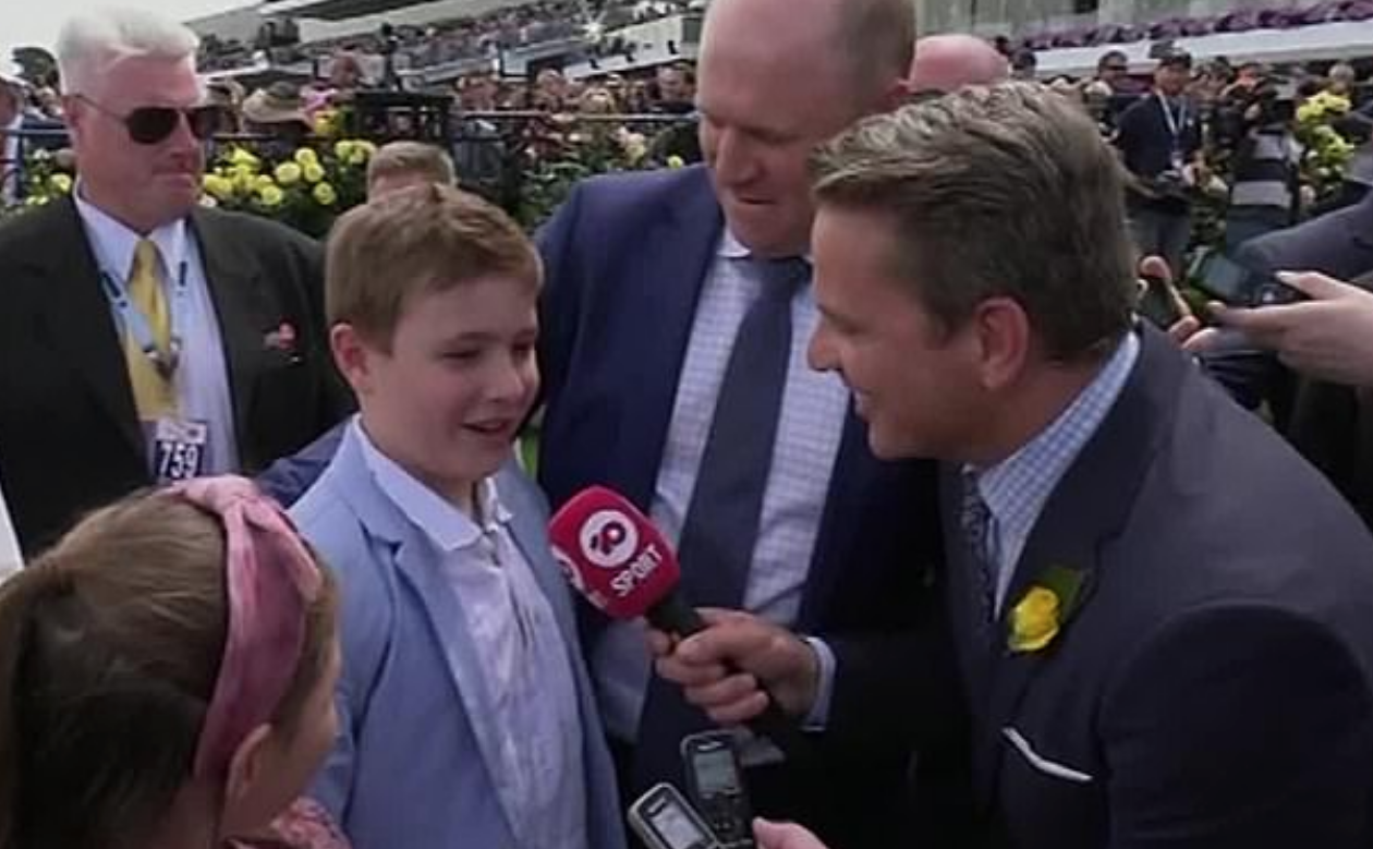 Melbourne Cup Reporter In Strife For Apparently Shoving Trainer's Young Daughter
