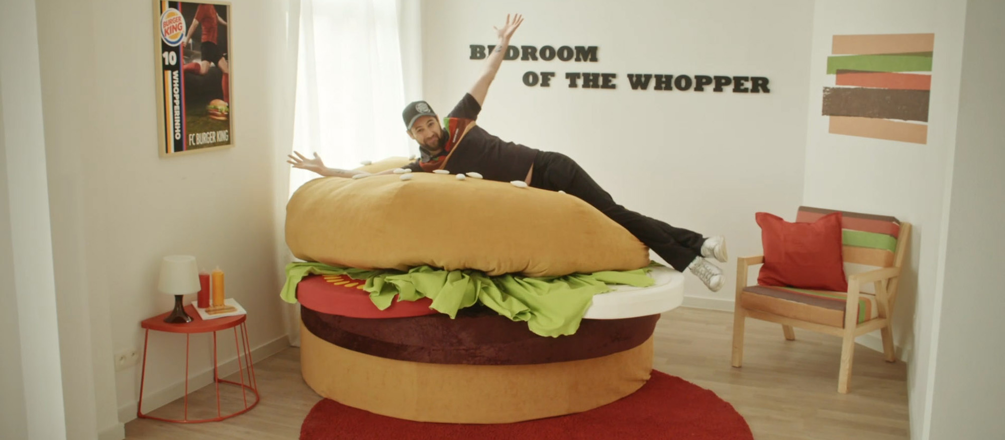Burger King Want To Give A Lucky Customer Their Own Whopper-Inspired Apartment… There's Just One Catch!