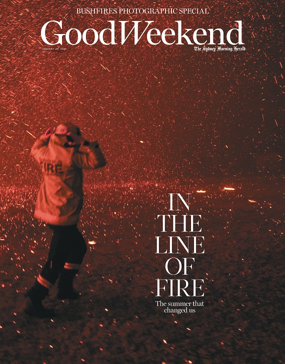 Good Weekend Unveils Special Bushfire Edition