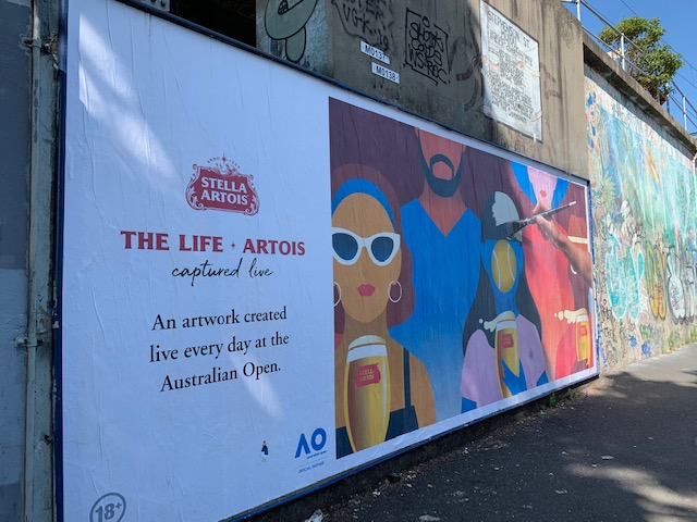Stella Artois Partners With Australian Open To Launch 'The Life Artois'