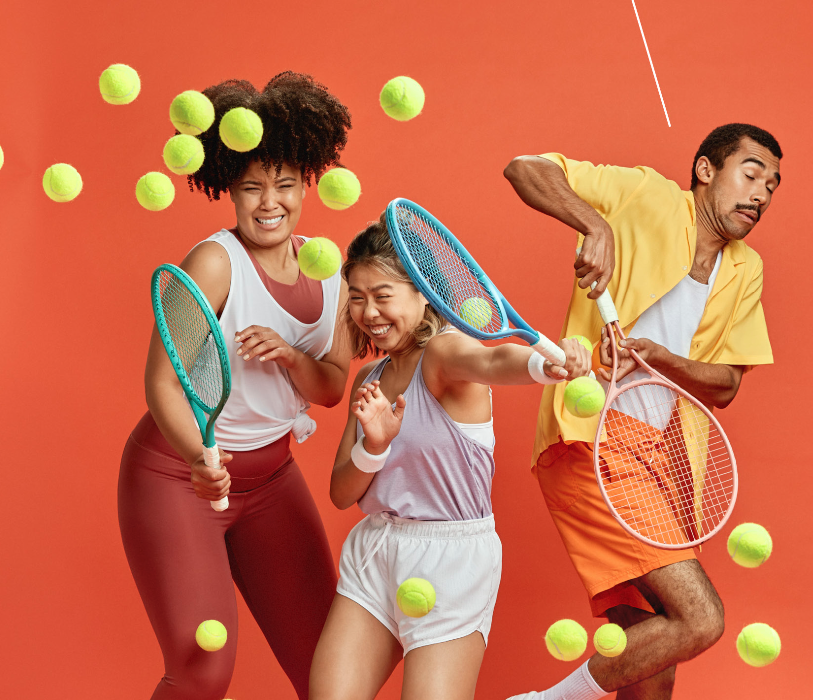 "Tennis Australia Unveils ""Get Your Racquet On"" Via Landor"