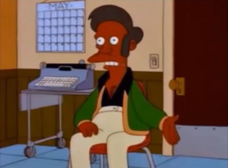 Simpsons Set To Discontinue Apu