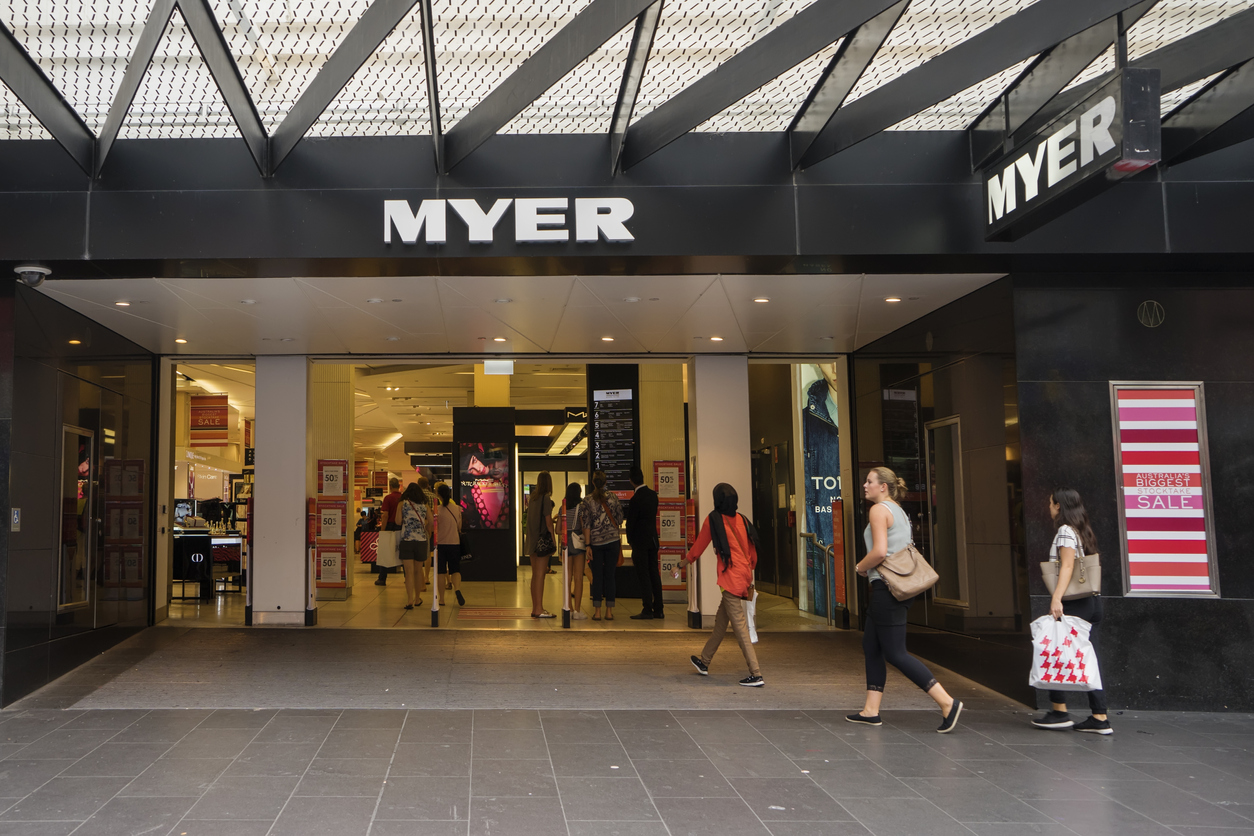 Myer Cuts 35 Head Office Jobs Amid Struggling Retail Market