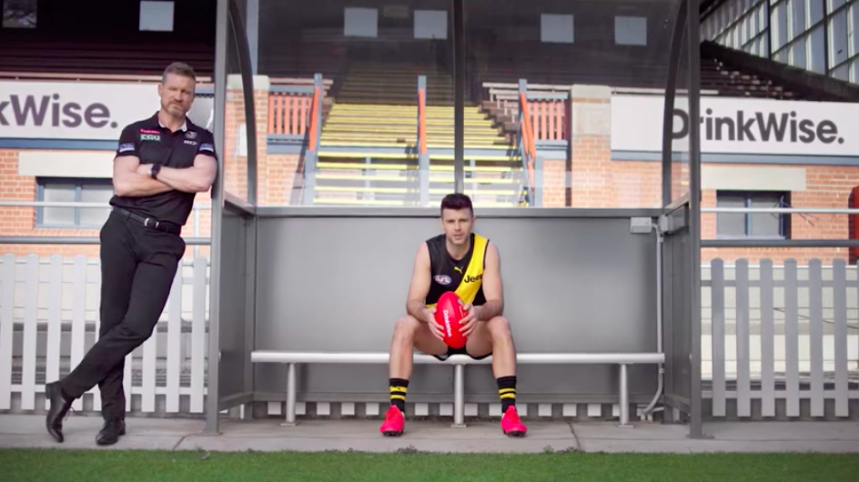 Drinkwise Enlists The Help Of Afl Legends Trent Cotchin And Nathan Buckley B T