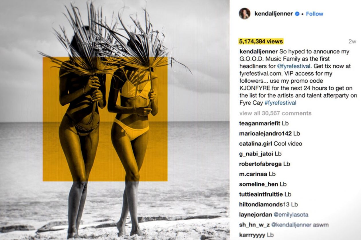 Kendall Jenner Agrees To Pay $140K For Her Role In Promoting Fyre ...