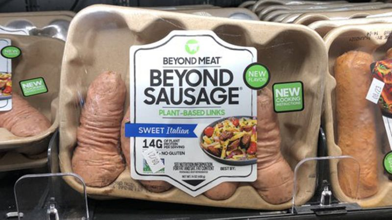 Penis-Shaped Vegan Sausages Become Instant Social Media Smash - B&T