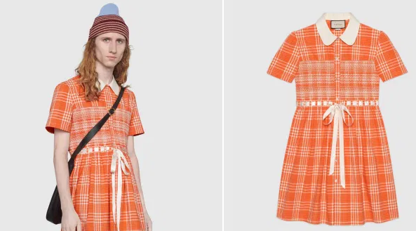 "Gucci Unveils $3000 Dress For Men It Hopes Will ""Disrupt Toxic Stereotypes"" Of Gender"