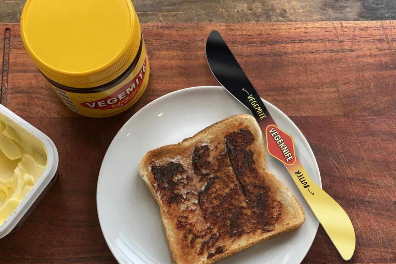 Vegemite Unveils The 'Vegeknife' Via Thinkerbell - B&T